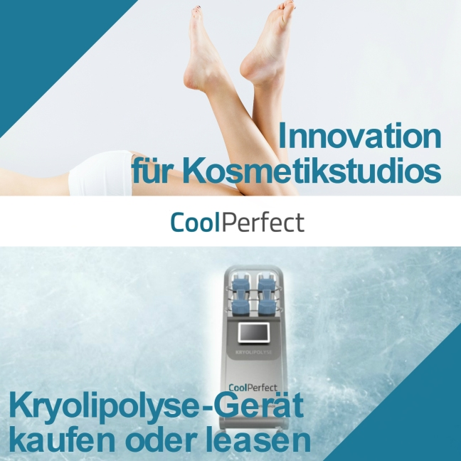 Kryolipolyse Gerät für Kosmetikstudios - CoolPerfect Franchise
