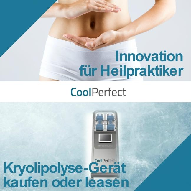 Kryolipolysegerät für Heilpraktiker - CoolPerfect Franchise