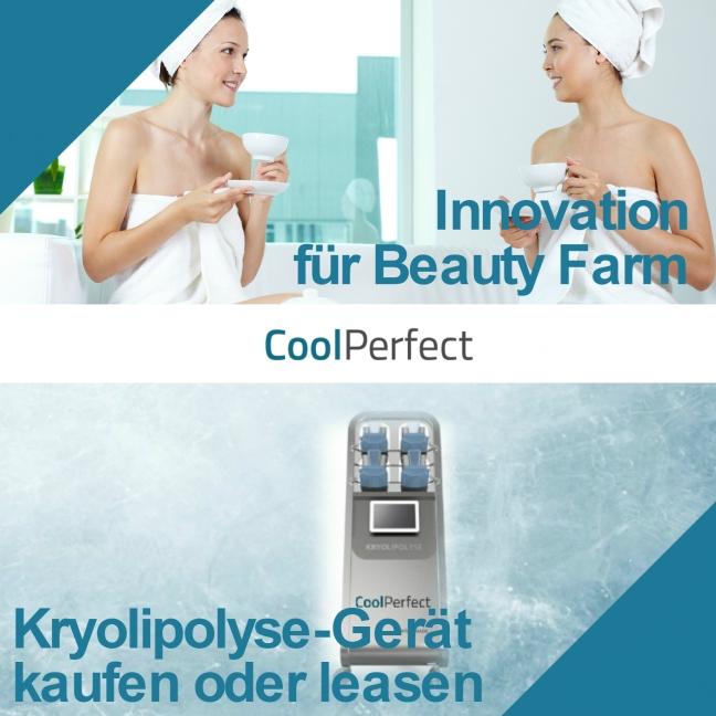Kryolipolyse Gerät für Beauty Farm - CoolPerfect Franchise