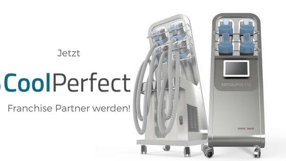 Jetzt CoolPerfect Franchise Partner werden - Franchise und Leasing von Kryolipolyse-Geräten